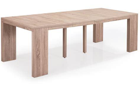 Table Console Extensible Chêne Clair 50 à 250 Cm 12