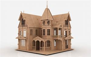 Free Dollhouse Plans Dxf Plans DIY Free Download Building