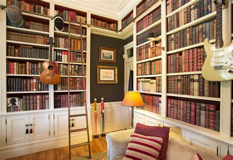 Home Library : Groth & Sons Interiors Sydney