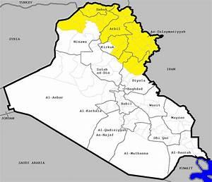 Iraqi Kurdistan   Ethnic Geography