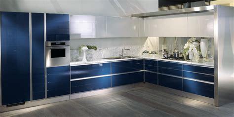 cuisine blanche et bleue la cuisine bleue inspiration cuisine