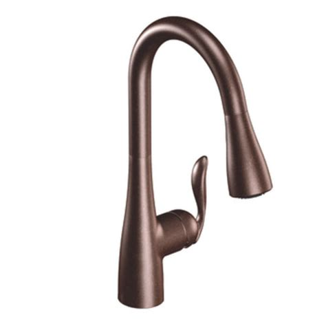 Moen Arbor Kitchen Faucet Rubbed Bronze by Moen 7594orb Arbor Single Handle High Arc Pulldown Kitchen