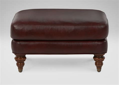 hyde leather ottoman leather sofa guide
