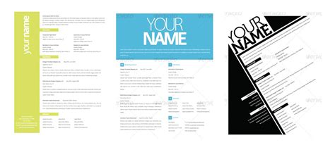 Graphic Resume Layouts by Graphic Resume Templates Learnhowtoloseweight Net