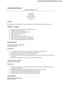 high resume with no work experience cover letter sle youth