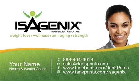 isagenix business cards template isagenix business cards