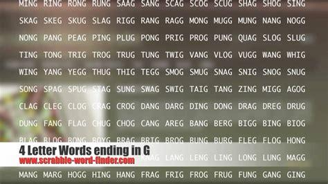 7 letter words ending in r 4 letter words ending in g 93282