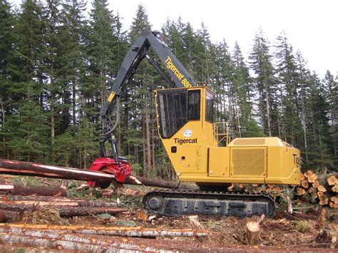 Tigercat harvester | Logging equipment, Forestry, Heavy ...