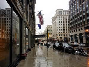 Washington DC City Street