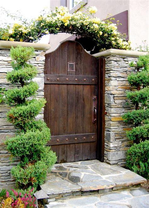 backyard gates beautiful arch wooden garden gates decorating gates pinterest wooden garden gate garden