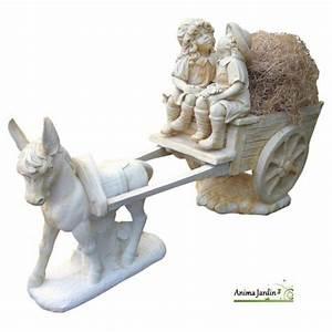 Statue De Jardin En Résine : statue en pierre reconstitu e cal che aux enfants ne ~ Dailycaller-alerts.com Idées de Décoration