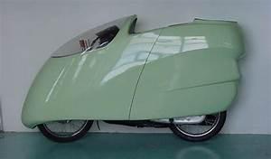 Velomobiel  214 Mpg Recumbent Motorcycle  Honda 125cc With
