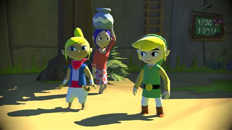 The Legend Of Zelda Wind Waker Hd Comparison Video