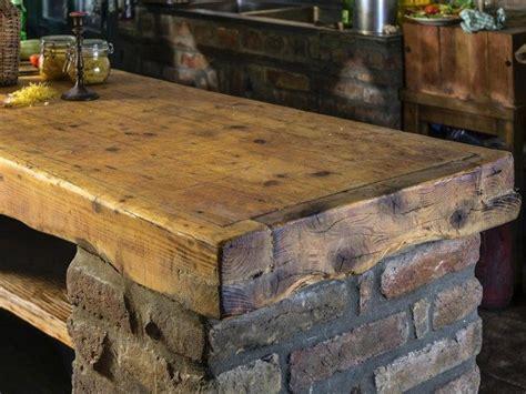 barnwood kitchen island unique kitchen countertop designs you can adopt decor