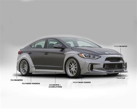 Modded 2013 hyundai elantra startup and overview! FS0705-1700 | ARK Solus Body Kit Hyundai Elantra