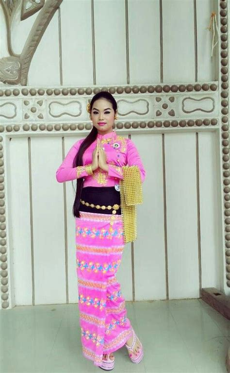 images  myanmar dress  pinterest facebook