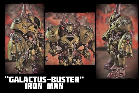 Galactusbuster Iron Man By Gdx  Toy Discussion At Toyarkcom