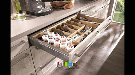 tiroir interieur placard cuisine aménagement interieur de tiroir et meuble cuisine