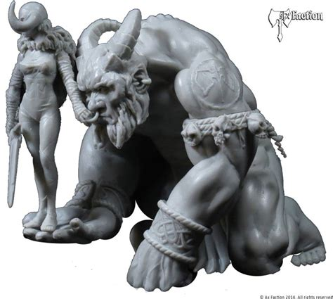 Ax Faction's Ogre Dominator Drags Her Catch Out In Chains ...