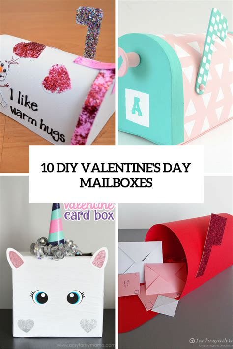 10 Cute Diy Valentine's Day Mailboxes For Kids Shelterness