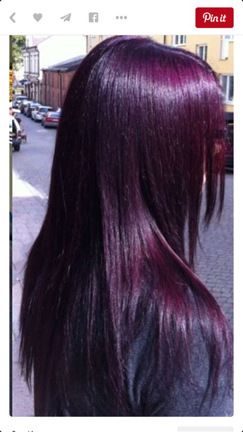 purple hair color for hair eggplant purple so almost black hair colorz hair color