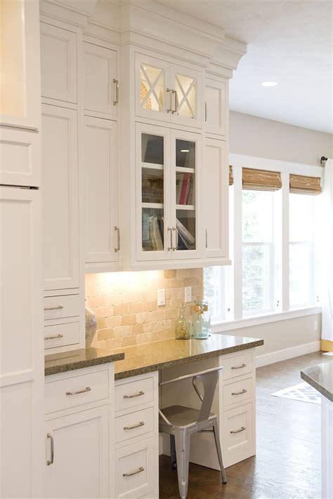 built in desk in kitchen ideas 30 functional kitchen desk designs