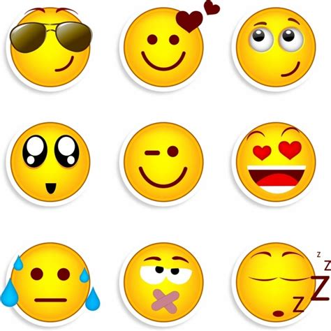 Download Free Smiley Face Emoticon