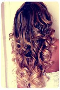 curly ombre hair | Tumblr