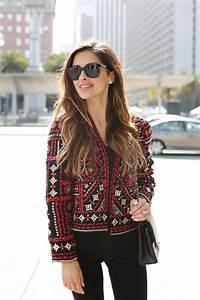 San Fran: Red Embroidered Jacket - Mia Mia Mine