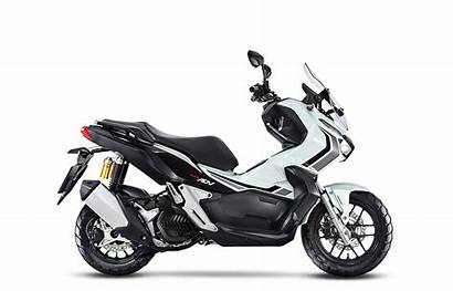 Adv Honda Branco Motos Perolizado Scooter Vermelho