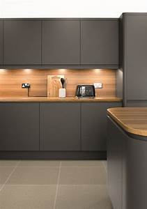 Lucente Matt Anthracite Kitchen Doors Doors And Handles UK