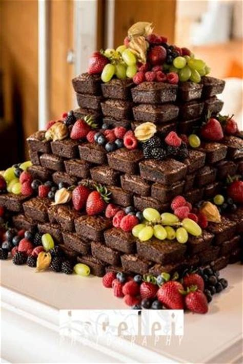 chocolate brownie wedding cake ideas candy cake