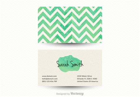 Free Chevron Business Card Vector Template Best Business Card App For Salesforce Using Avery Templates In Word Business-credit-card-alternative Wallet Reading Android Cards Print Contact Hairdresser