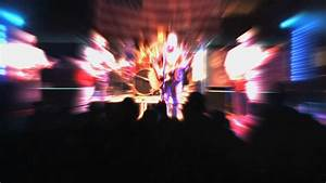 Fans Applauding At A Rock Concert Stock Footage Video ...