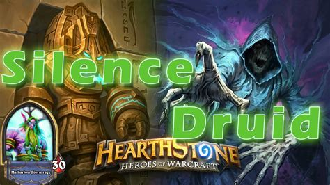 druid deck hearthstone legend hearthstone legend crusher silent druid deck decklist