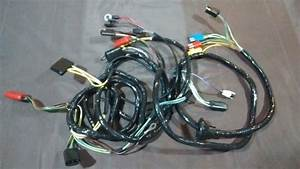 Front End Headlight Feed Firewall Wiring Harness 67 Ford