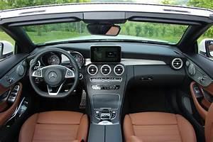 Mercedes Classe C Noir : essai vid o mercedes classe c cabriolet sortez d couvert ~ Dallasstarsshop.com Idées de Décoration