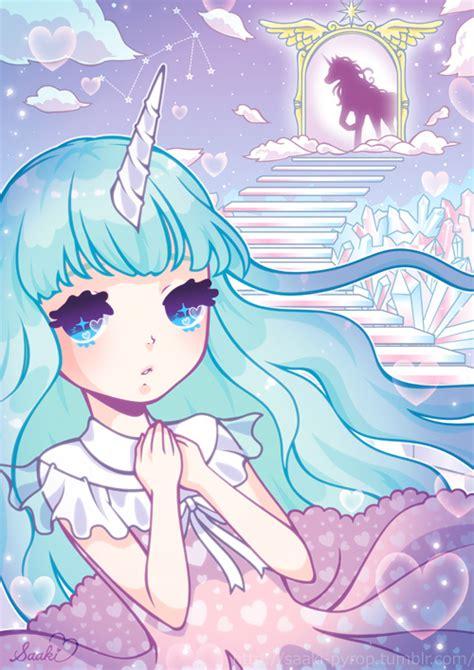 anime unicorn art makes me a unicorn via tumblr image 879208 by korshun