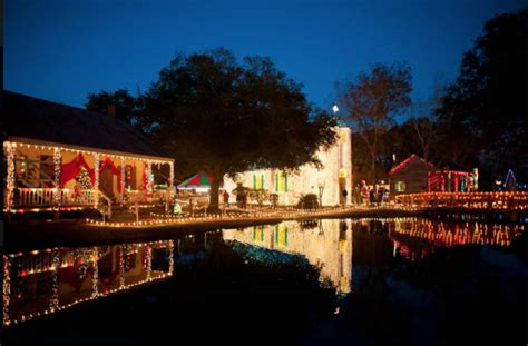 acadian village christmas lights lafayette la take this lights road trip in louisiana for