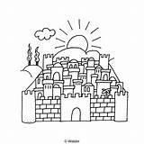 Hamikdash Yerushalayim Bais Ag002 Waldereducation sketch template