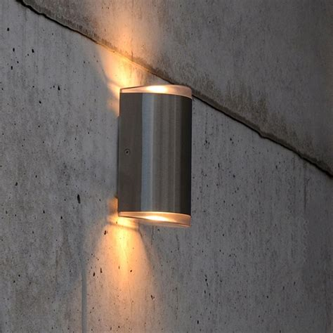 up and down wall lights lutec path 15w exterior led up and down wall light in