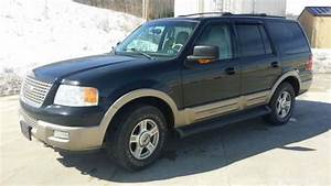 Purchase Used 2003 Ford Expedition 4x4 Leather Sun Roof 5 4l 115k New Tires Suv Black Tan    In