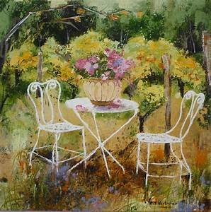 Table De Jardin Blanche : les fleurs ~ Teatrodelosmanantiales.com Idées de Décoration