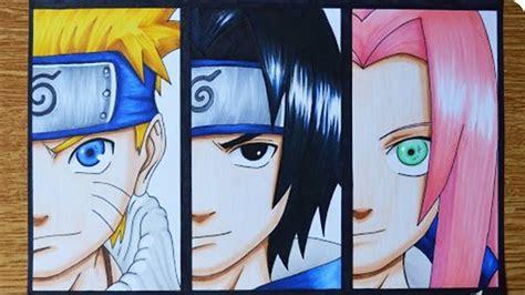 Naruto, Sasuke E Sakura