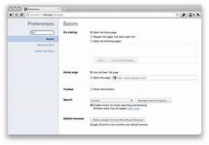 Google Chrome 10 Release Brings Tabbed Settings  Flash