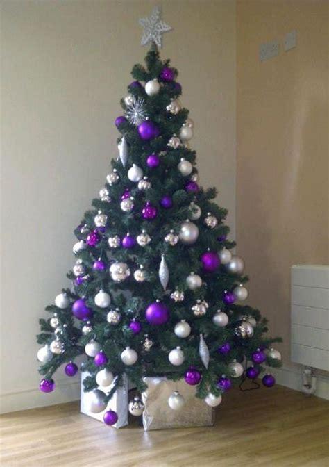 25 Beautiful Purple Christmas Tree Decorations Ideas Magment