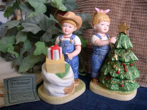 home interior denim days figurines home interiors homco denim days quot it 39 s quot figurine