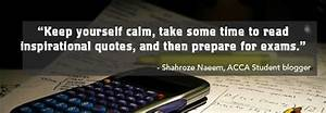 2014 September ... Preparing Exam Quotes