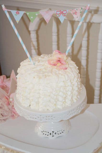 shabby chic birthday cake shabby chic birthday party smash cake birthday parties pintere
