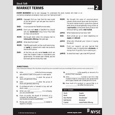 The Stock Market Game Activity Sheet 1 About Bonds Answers Coldcloudfiles